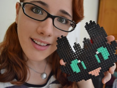 ♥¡Nia´s Crafting!♥ - COMO ENTRENAR A TU DRAGON HAMA BEADS