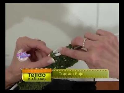 Mabel Gómez - Bienvenidas TV - Teje un Tapado Rojo.