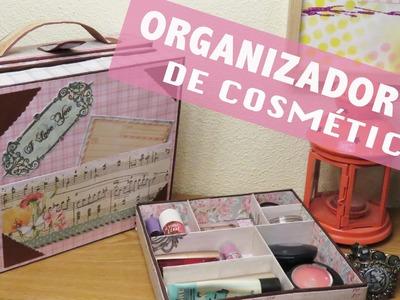 ORGANIZADOR de #maquillaje en forma de #MALETA
