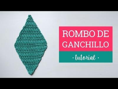 Rombo de Ganchillo   Crochet rhombus