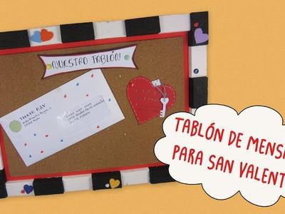Tablón de Mensajes para San Valentín