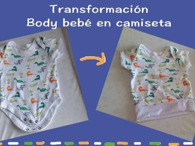 Transformación Body de #Bebé en Camiseta