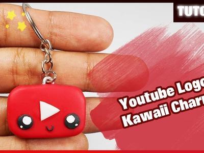 Youtube Logo - Kawaii Charm ✰ Tutorial ✰ Polymer Clay ✰ Porcelana Fría