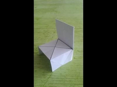 SILLA de papel PASO A PASO