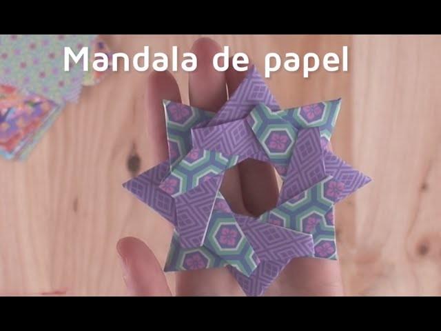 Cómo hacer un mandala de origami | facilisimo.com
