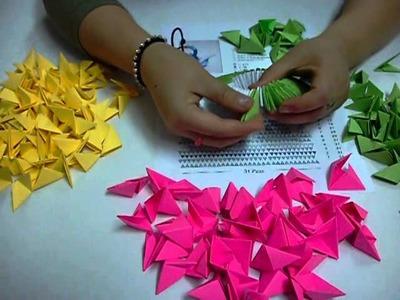 DIY Origami 3D Cisne Papiroflexia (1ra Parte) Easy Crafts