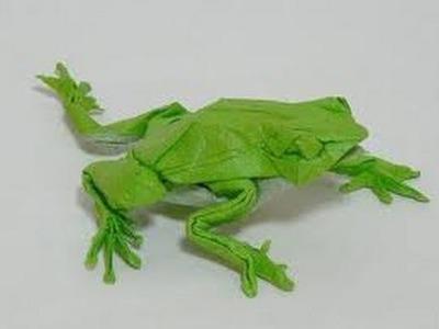 Origami ranas, como hacer ranas con papel, origami