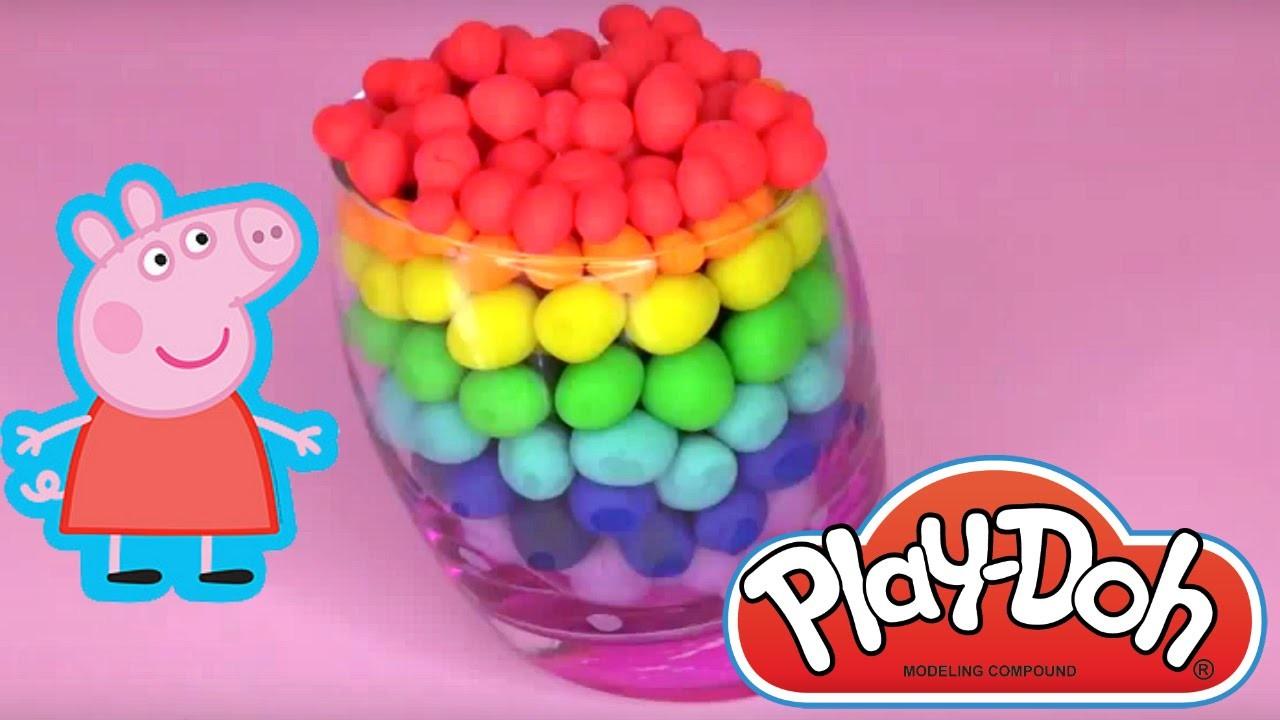 Huevos Juguetes De Kinder Play Sorpresa En Doh Peppa Pig Español VSpMqUzG