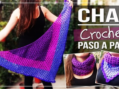 Chal a Crochet Tutorial paso a paso - Tejido a Crochet