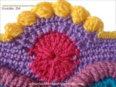 Patrón Crochet Mandala Madness 3 CAL - Crochet Along