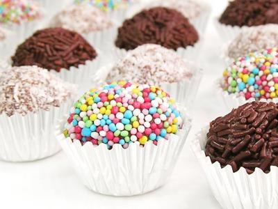 Trufas de Chocolate | Receta Fácil y sin Horno!