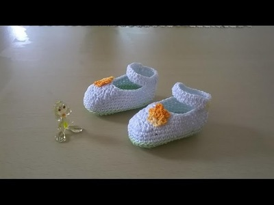 Zapatitos en crochet