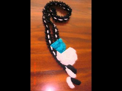 Agujas y Crochet: 3 en 1 Bufanda,collar y.o cinturon