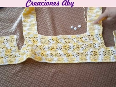Canesu Tejido a Crochet