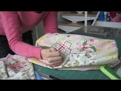 Como hacer una funda para la máquina de coser (Patrones Gratis)