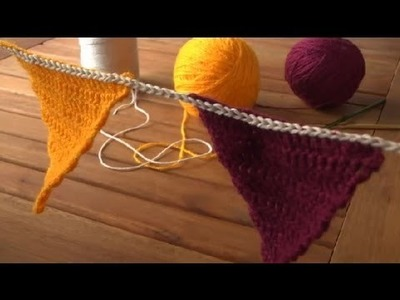 Cómo tejer una guirnalda en croché : Técnicas de crochet