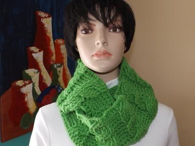 Crochet bufanda circular de trenzas - con Ruby Stedman