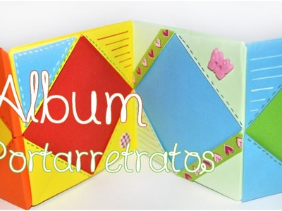 DIY: Mini Album Portarretratos {Origami - Scrapbook} - Brotes De Creatividad