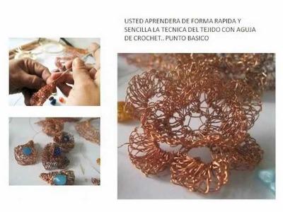 URSI GALLETTI - Curso Crochet Hilo de Cobre Nivel I