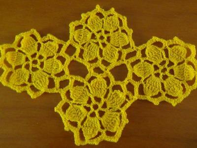 Video Tutorial Como Tejer y Unir Motivos a crochet