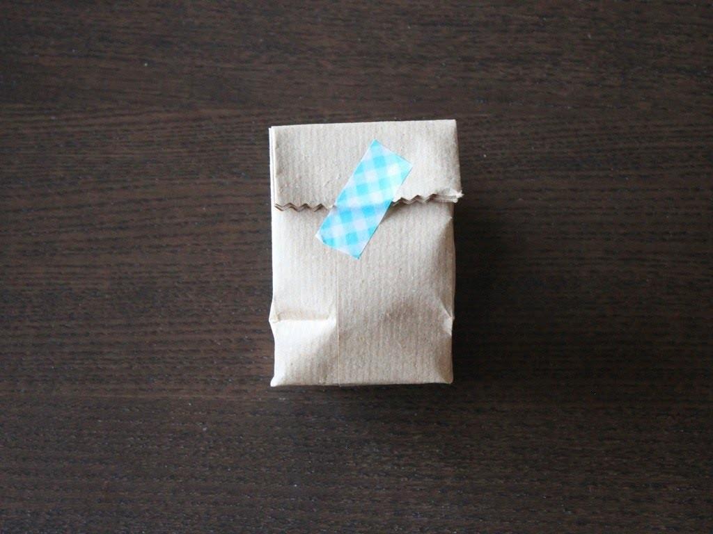 Cómo hacer una bolsita craft para tu packaging