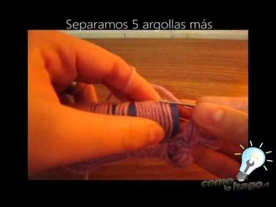 Como tejer punto escoba a crochet Parte 2 - Como Lo Hago