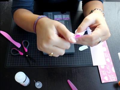 Como usar la Flower Punch Board Parte 1 - Scrapbooking Español