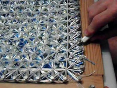 Corte de paño tapete Pompon. (7.9)