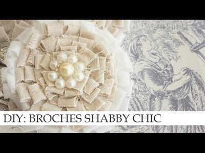 DIY: BROCHES VINTAGE ESTILO SHABBY CHIC