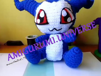 DIY Cute Crochet Tutorial Demiveemon (Digimon) por Amigurumi.Universe