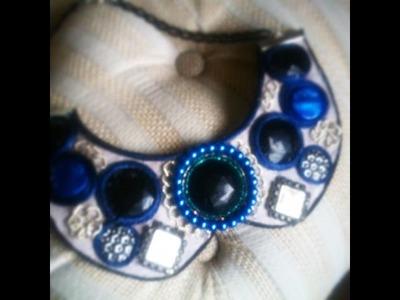 DIY Maxi collar