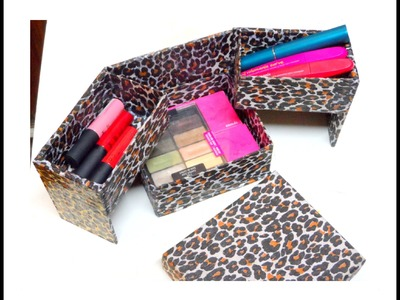 DIY:organizadorr para maquillaje ( home organizer Makeup )