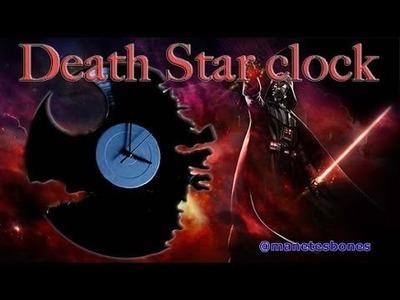 Reloj de la Estrella de la Muerte | Death Star Clock |Tutorial DIY