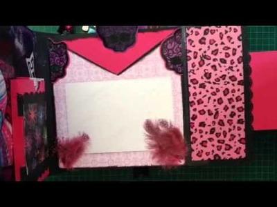Scrapbook Album Monster High