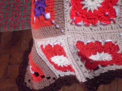T&P - Atun Rumi - Manta a Crochet. Ganchillo