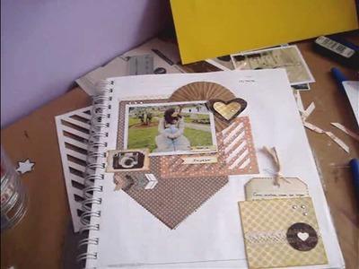 Tutorial Scrapbook.smash book- plantillas para fondo. embellecedores