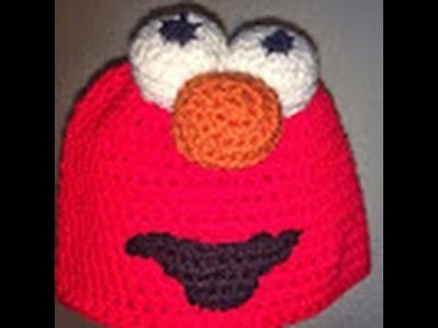 Como hacer un gorro de Elmo. Crochet. Parte 1