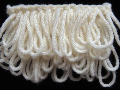 Crochet : Punto Bucle
