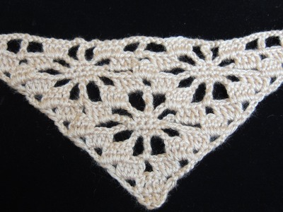 "Crochet : Punto en ""V"". Parte  2"