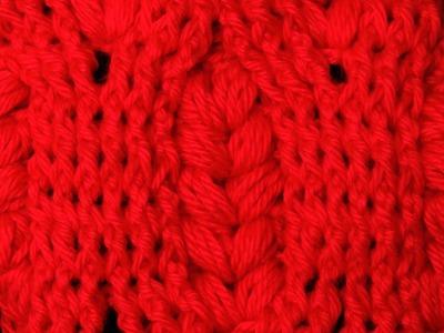 Crochet : Punto Esponjoso (Puff) con Relieve.  Parte 1 de 2