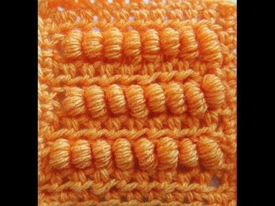 Crochet : Punto Tirabuzon
