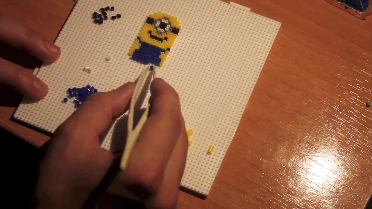 Hama Beads: Minion