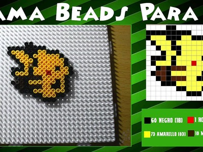 Pikachu - Tutorial Hama Beads