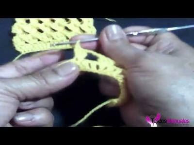 Punto Tridimensional (crochet. ganchillo)