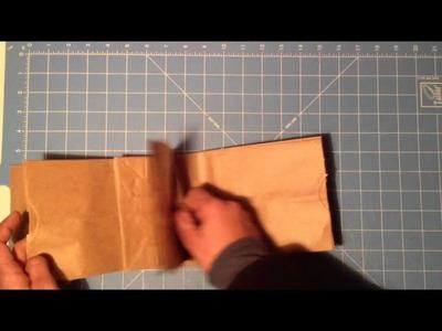 Album con bolsitas de papel