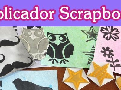 Aplicadores Tinta Scrapbooking . Tutorial Scrapbook