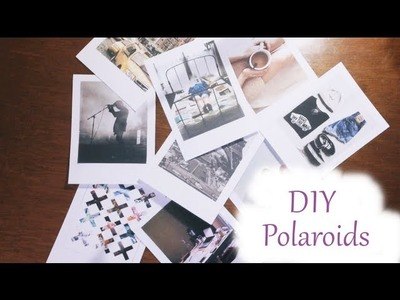 ♡ DIY: Fotos tipo Polaroid ♡