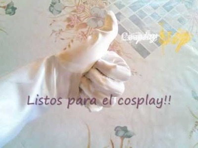 How to make cosplay: Como hacer guantes para cosplay