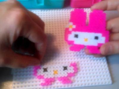 My Melody de Hama Beads  HD By Rainbowman