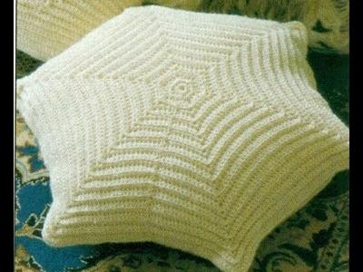 Patrón Para Tejer Almohadón a Crochet